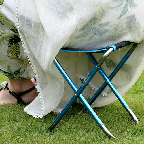 Portable Lightweight Folding Chair Outdoor Fishing Camping BBQ Picnic Stool