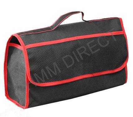 TRUNK ORGANISER STORAGE BAG WITH POCKETS ! LARGE CAR BOOT BAG ORGANIZER