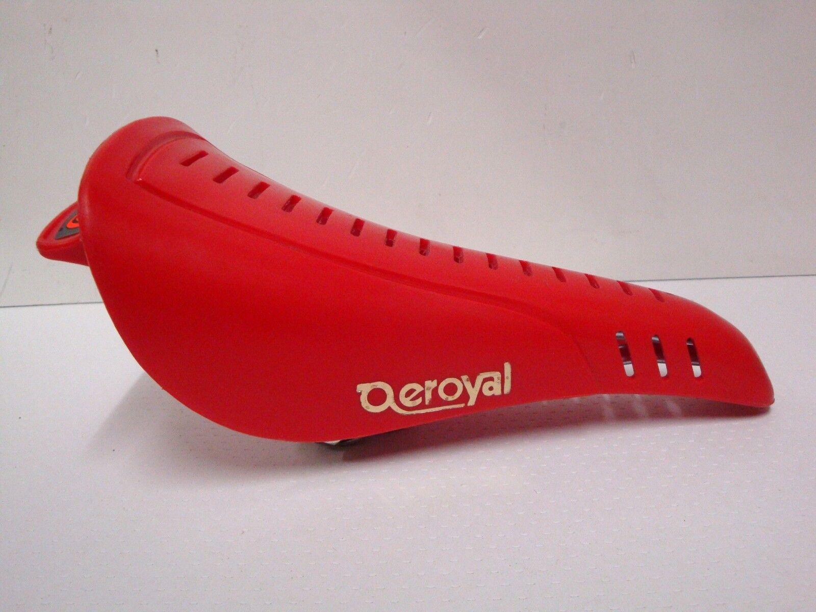 Nos Selle Royal aeroyal Silla Asiento Bmx Rojo 401gr Niño Modelo Hecho En Italia