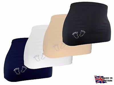 Maternity Belly / Bump Band Diamond Baby Feet Smart Fabric Size Xs, S, M, L & Xl Entlastung Von Hitze Und Sonnenstich