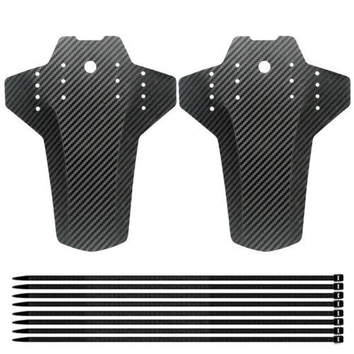 1X 2Pcs Mountain Bike Fender, Front and Rear MTB Mud Guard, Adjustable Fende m9u