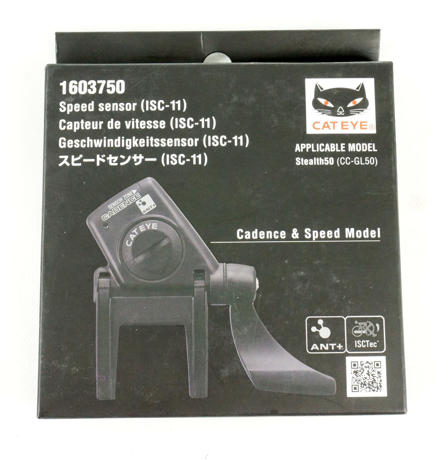 Integrated Speed//Cadence Sensor ISC-11 Bicycle Speed//Cadence CatEye ANT
