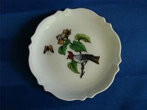 3-Vintage-Gerard-Dufraiss-Abbot-GDA-Limoges-France-Dish-Butter-Pats-Coaster