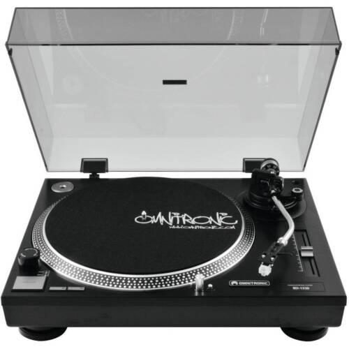 Omnitronic BD-1520  Plattenspieler Tonabnehmersystem Turntable BD 1520
