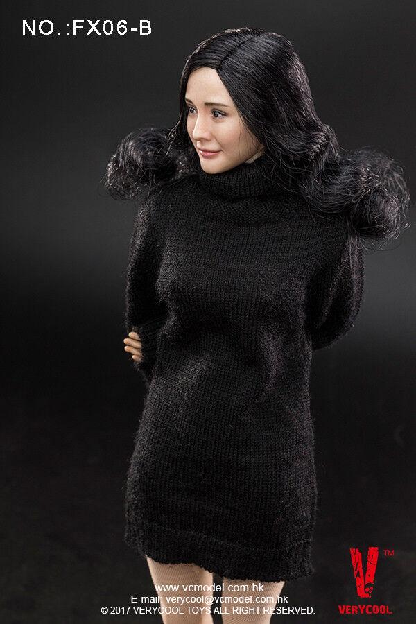 Very Cool Toys 1 6 Scale 12  Asian Actress Actress Actress Headsculpt & Body 3.0 VCF-FX06-B e20dfd