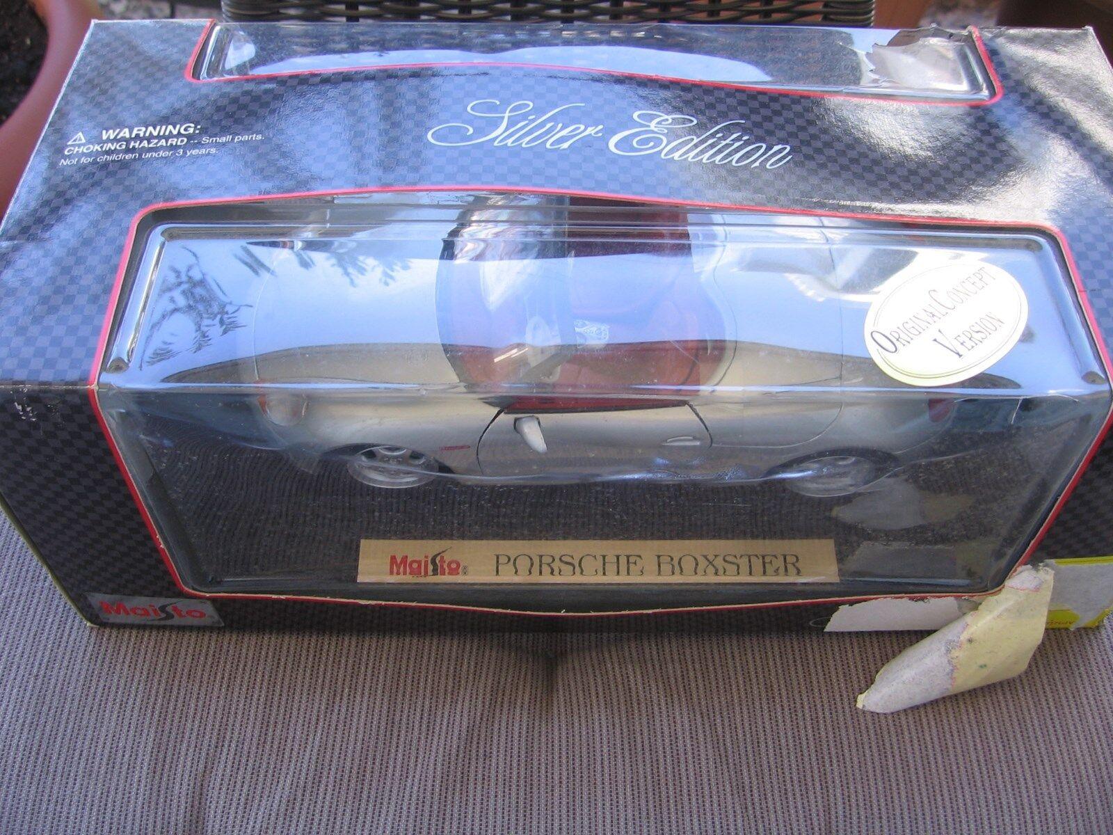 primera vez respuesta Porsche Boxster plata 1 18 maisto OVP & & & New   Ahorre 35% - 70% de descuento