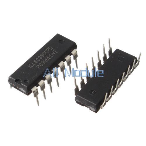 NEW 10PCS ICL8038 ICL8038CCPD INTERSIL IC OSCILL GEN//VOLT CONTROL 14DIP