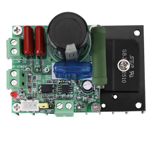 New DC//AC Motor Speed Driver Controller PWM Spindle Governor 15-160V//12-110V