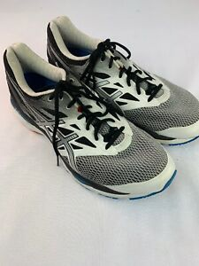 baratas para descuento zapatillas como comprar Men's ASICS 12.5 Black & White Fluid Ride Gel-Cumulus 18 Guidance ...