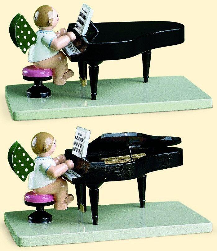 Wendt & audacieux Ange au Piano ouvert fermé 650 23 (N) Sélection Les Monts Métallifères
