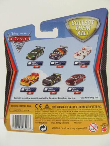 Ages 3+ Disney PIXAR Cars 2 CARLO MASERATI Car # 25