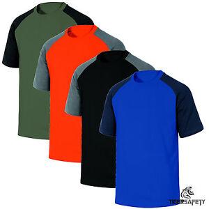 Delta-Plus-Panoply-Genoa-Mens-100-Cotton-Work-T-Shirt-Sport-Tee-Shirt-Top-BNWT