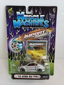 Muscle-Machines-Import-Tuner-039-02-Acura-RSX-Type-S-Silver-1-64