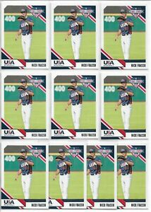 2020-Panini-Stars-amp-Stripes-Nick-Frasso-10-Card-Team-USA-Baseball-RC-Lot-23