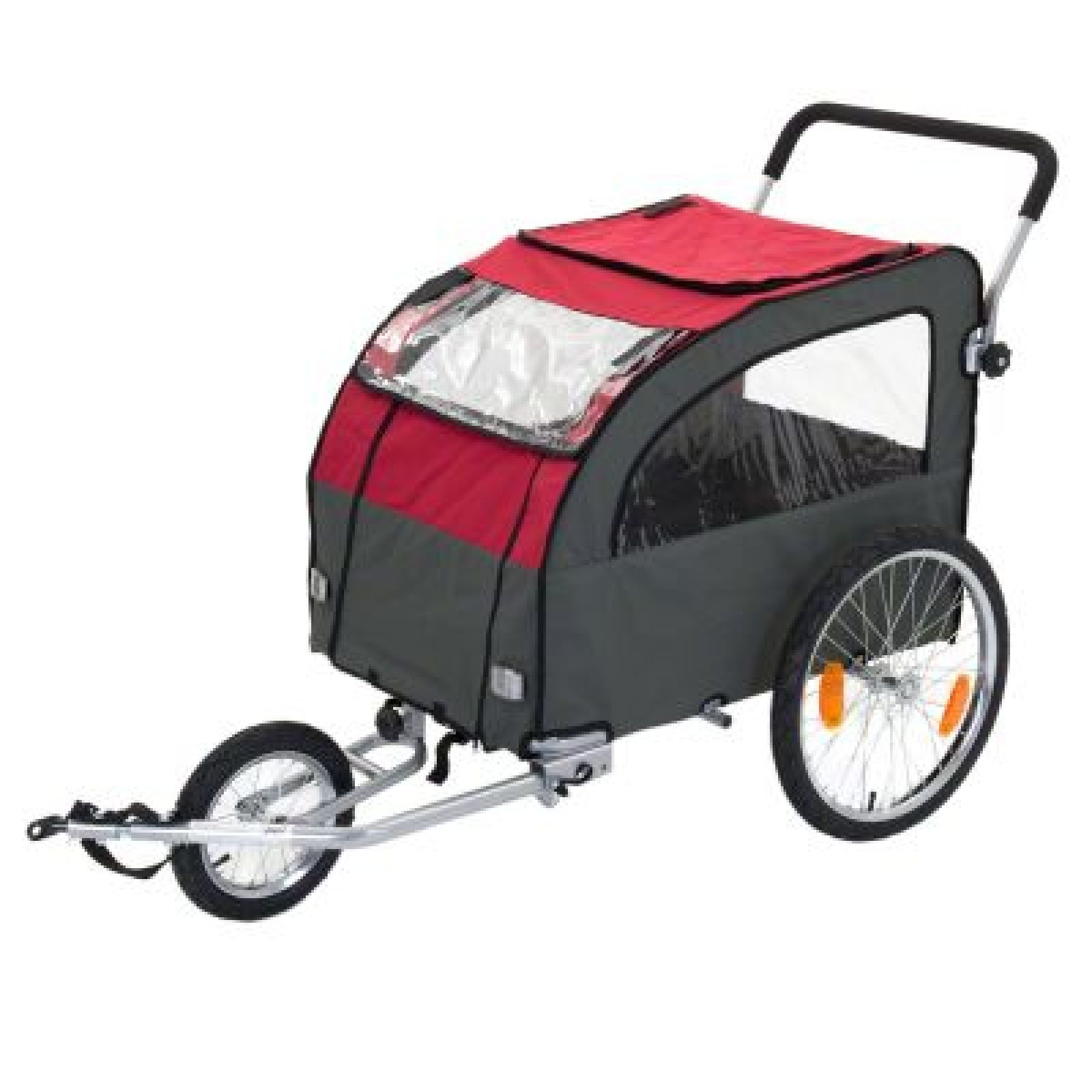 Large Dog Bike Trailer with Jogging Kit Bicycle Carriage Pet Carrier Cat Dog