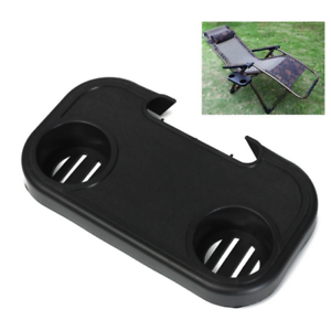 Zero Gravity Recliner Chair Clip Side Tray Table Cup Holder Sun Lounger Outdoor