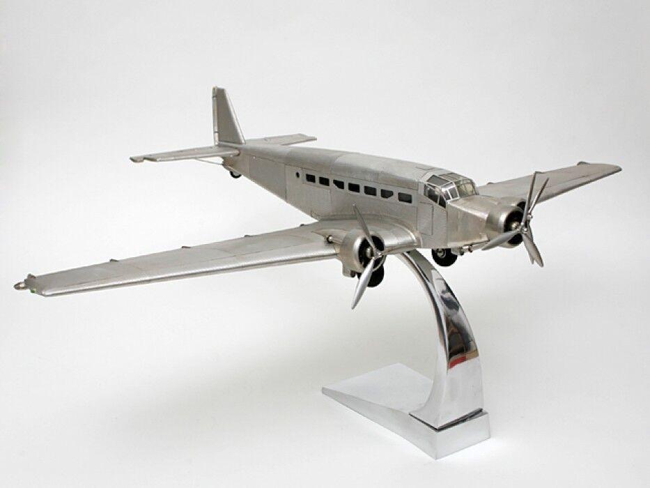 Modèle D'avion ju-52 Vollmetall Stand Modèle + pied de support réplique fidèle Détail
