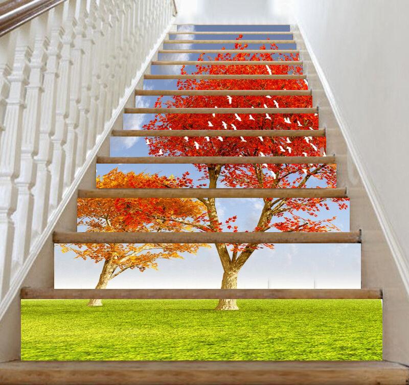 3D Mangrove Bird 363 Risers Dekoration Foto Mural Vinyl Decal Wallpaper CA