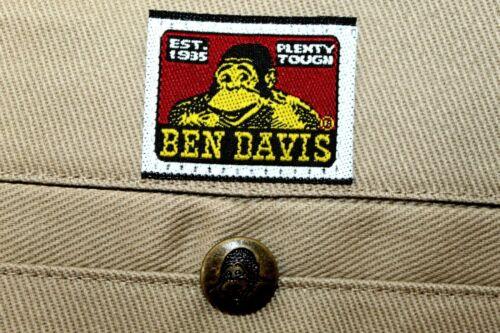 BEN DAVIS Work Pants Men's 36x32 Light Brown Cotto