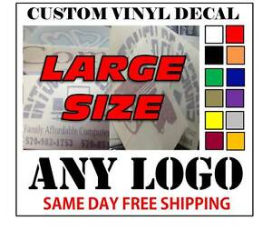 Large Custom Vinyl Decals Custom Vinyl Decals - Large custom vinyl stickers