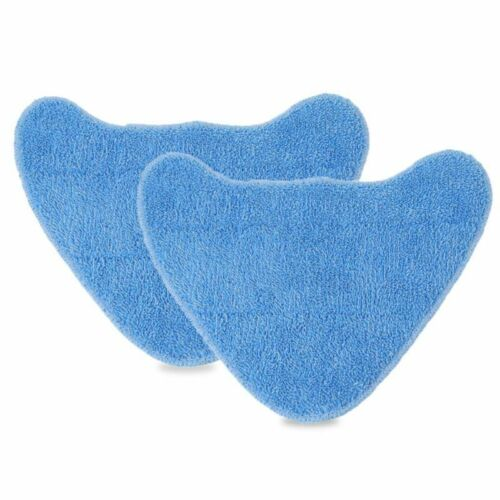 2*Washable Mop Pads Cleaning Cloth For Vax Steam Cleaner Mops Spare Fittings.