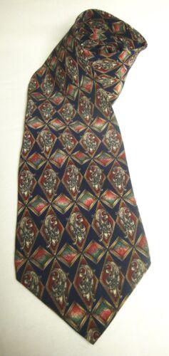 Vintage Bill Blass Tie USA Pure Silk Blue with Filigree Stripe  Necktie 56 x 3.75 Vintage Tie Shop T1316