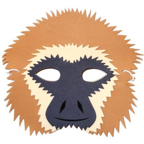 by Blue Frog Toys Children /& Grown Ups Masquerade Gibbon Monkey Foam Mask