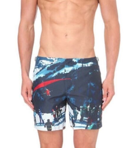 Orlebar Brown Bulldog Hulton Getty Easy  Glider Swim Shorts W34 W36 RRP£225