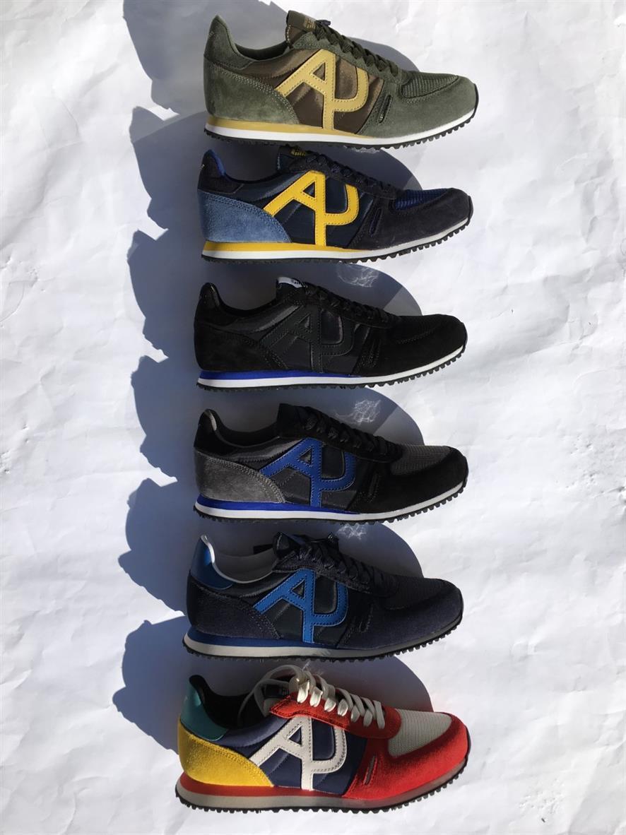 scelte con prezzo basso SCARPA UOMO ARMANI ARMANI ARMANI JEANS scarpe da ginnastica con logo camoscio e tela 935027 7A420  punti vendita