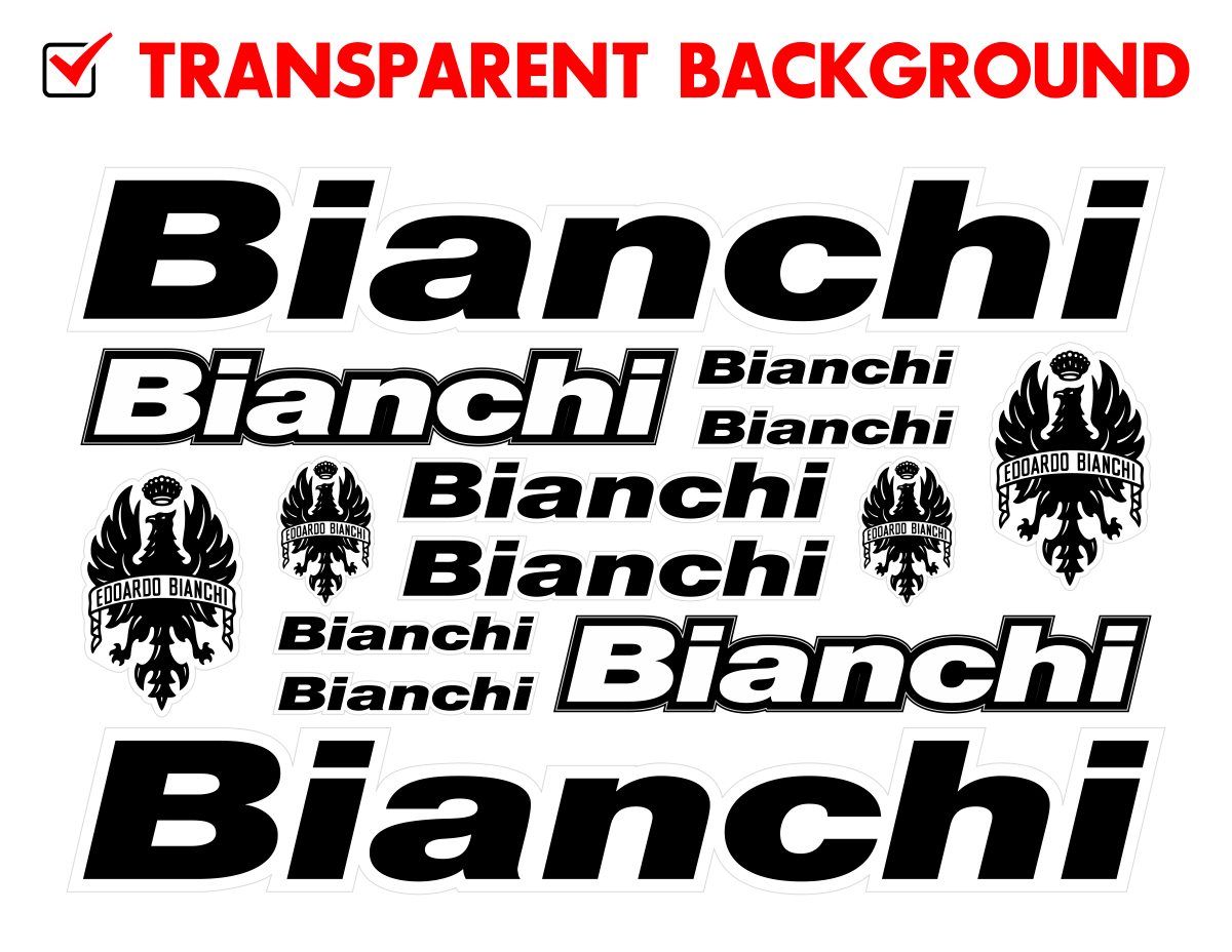 "Bianchi Sticker decal 10/"" x6/"" huge NEW"