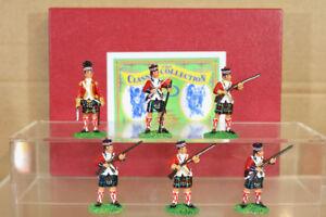Trophée Miniatures de la Révolution américaine du 42ème Highland Regiment à l'heure de la préparation