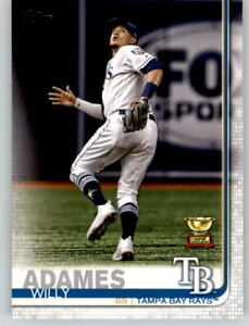 15-2019-Topps-Series-2-15-Card-Base-Lot-WILLY-ADAMES-Rays-Rookie-Cup-562
