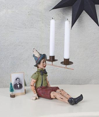 Pinocchio Personaggio Candele In Portacandele Da Tavolo In Candele In Vintage-