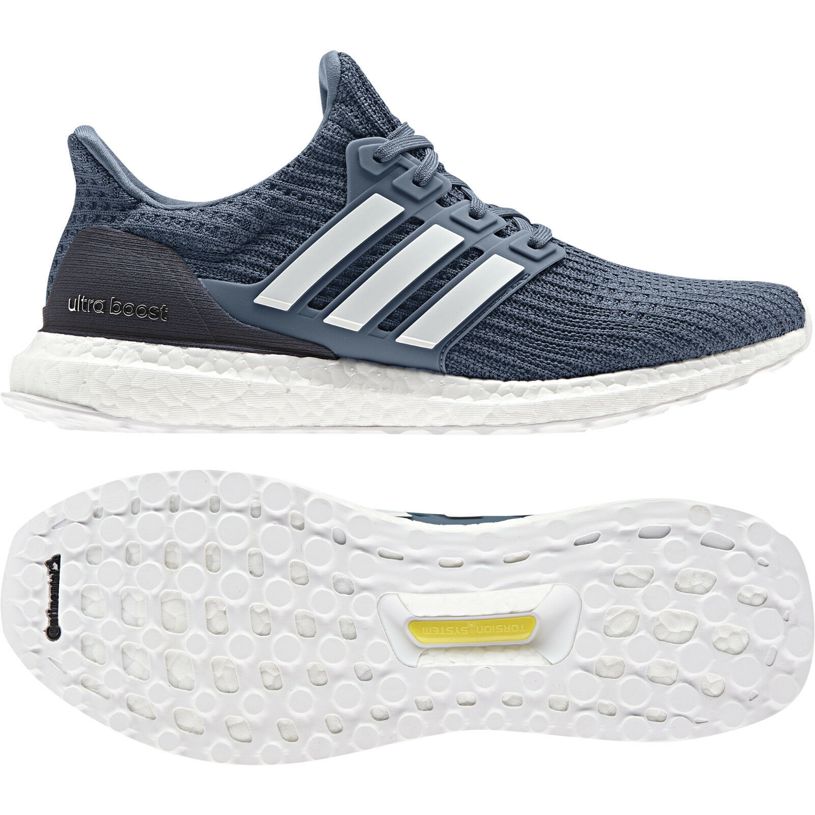 Adidas Mens Running UltraBOOST scarpe Training Gym Trainers Fitness CM8113