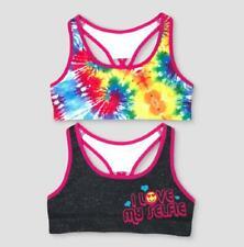 NEW Girls SHOPKINS Seamless Sports Bra SIZE S 4//6 Poly Nylon Spandex SPORTSBRA