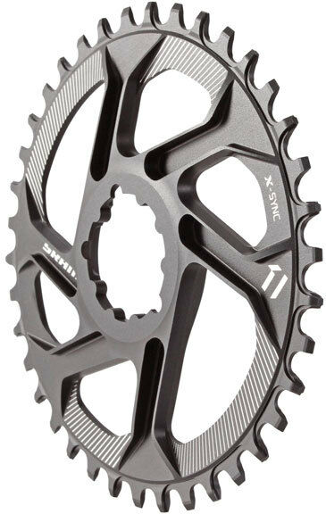 SRAM  X-Sync 1x Direct Mount Mountain Bike MTB Chainring 6mm Offset - 36t