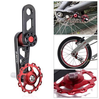 Aluminiumlegierung Radfahren Single Speed Kettenspanner Fahrradkette verh  SP