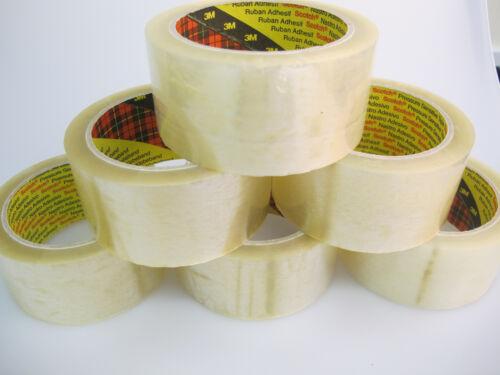 30 X 3M 371 Scotch Transparent Klar Paket Packung Verpackung Band 48mm X 66m