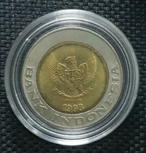 1993-INDONESIA-KELAPA-SWIT-1000-Rupee-Coin-26mm-FREE1-coin-10204