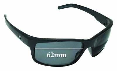 SFX Replacement Sunglass Lenses fits Arnette Havoc AN4099 62mm Wide