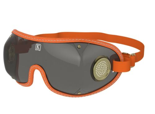 KROOPS ORIGINAL BOOGIE NEW Brass Vented Skydiving Parachute Goggles