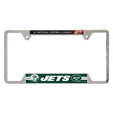 New York Jets 2013 Wincraft NFL Metal License Plate Frame FREE SHIP!!