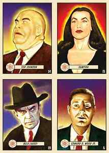 It-Came-From-the-Atomic-Age-Plan-9-Ed-Wood-Vampira-EC-UFO-Red-Menace-21-card-set