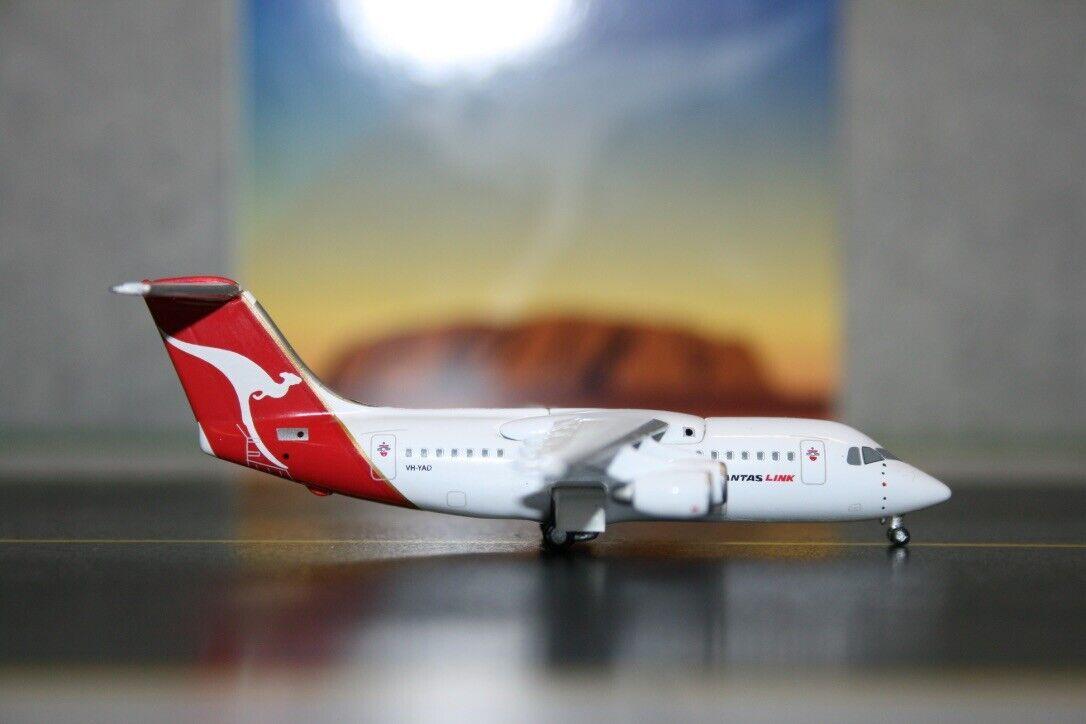 Jet-X 1 400 Qantaslink BAE-146-200 VH-YAD (QA003) Die-Cast Model Plane Qantas