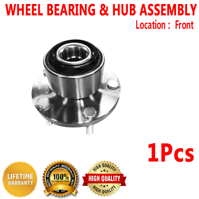 Note: FWD - Two Bearings Left and Right Included with Two Years Warranty 2001 fits Volvo V70 Rear Wheel Bearing and Hub Assembly