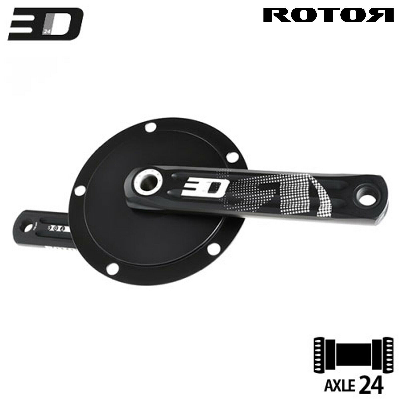 ROTOR TRACK CRANK 3D24mm 144BCD x 5bolt -167.5mm available