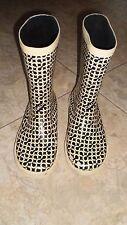 COACH Ursula Women Rain Boots Signature  Boots Size 6 B