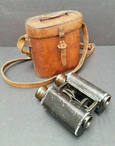 C P Goerz Berlin Trieder Binoculars amp Case 12x Binocle No4399 pre 1890s 1889 - <span itemprop=availableAtOrFrom>Exeter, United Kingdom</span> - Returns accepted - Exeter, United Kingdom