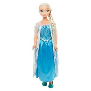 Disney-Frozen-MY-SIZE-DOLLS-034-ELSA-AND-ANNA-034-034-ANNA-AND-ELSA-034-Light-Up-Hair-Clips