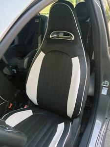 Details About Fodere Sedili Auto Fiat 500 Abarth Posteriore Sdoppiato Similpelle 2 Colori